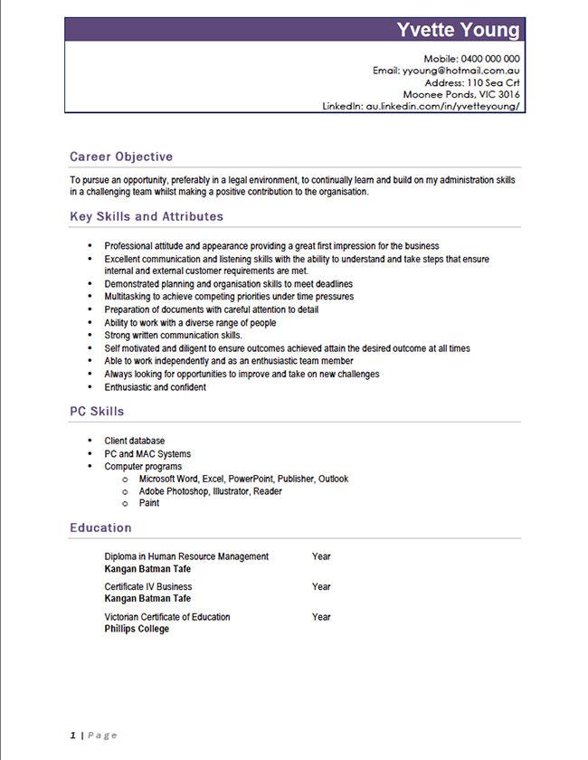 Resume for plumber helper