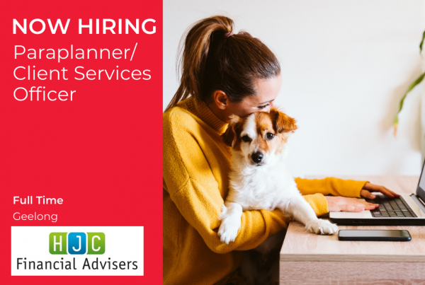 Paraplanner/Client Services Officer Geelong